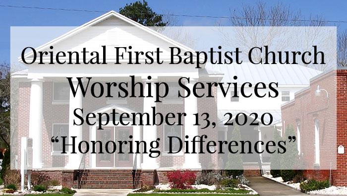 OFBC Worship Service September 13 2020