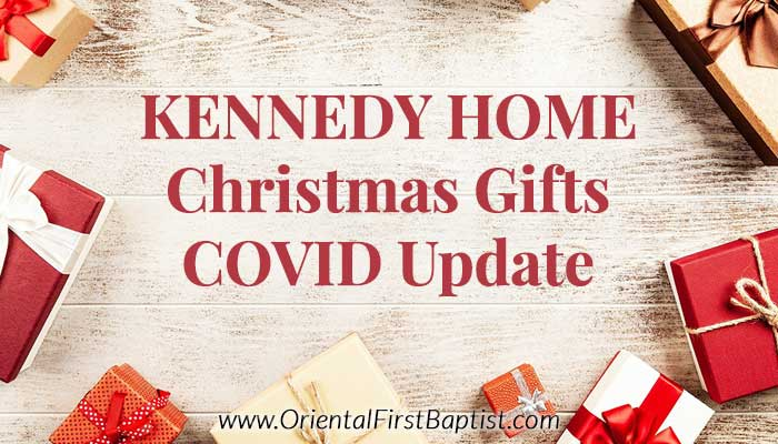 Kennedy Home Christmas Gifts Covid update