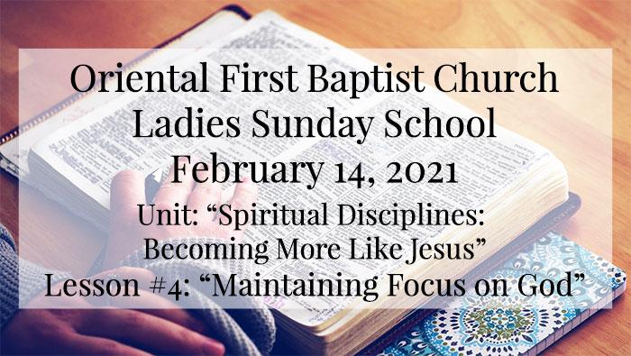 OFBC Ladies Sunday School for February 14 2021